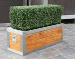 Stainless Steel Frame Trough Planter